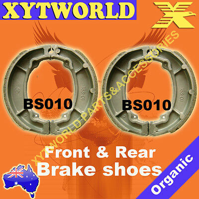 FRONT REAR Brake Shoes for Yamaha XT 250 1980-1984