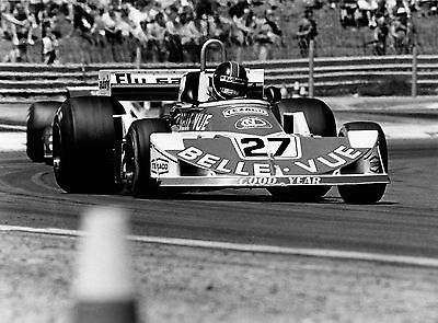 Patrick NEVE. March 761. French F1 GP, 1977. Period photo. D19
