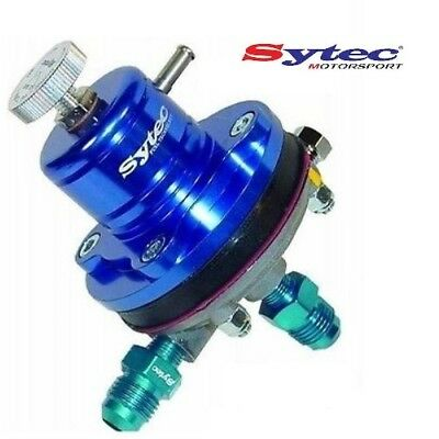 Genuine Sytec Msv Adjustable  2-6 Bar Fuel Pressure Regulator + Jic6 Unions -6
