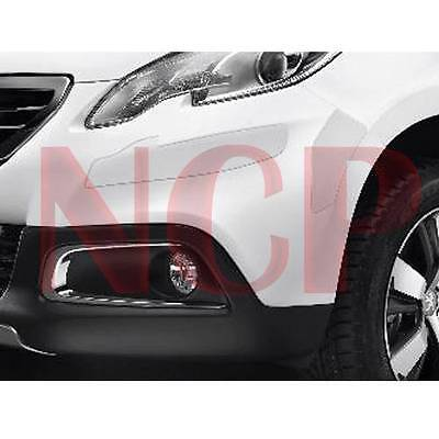 Genuine Peugeot 2008 Front & Rear Bumper Protection Capping Set Of 6 1610034180