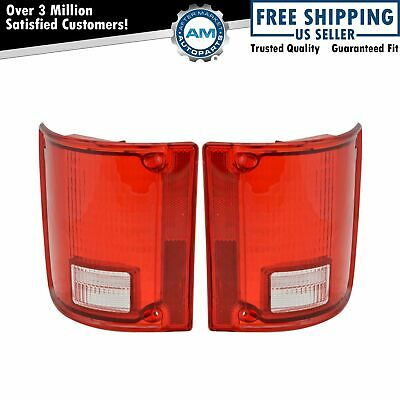 Taillight Taillamp Pair Set of 2 for GMC Jimmy Chevy 1500 Blazer Pickup Truck