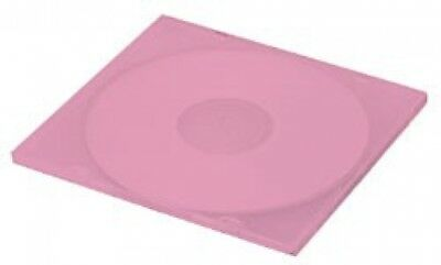 100 SLIM Red Color Single VCD PP Poly Cases 5MM