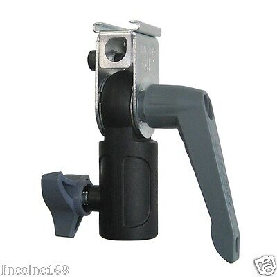 Photography Studio Camera Flash Hot Shoe Holder & Light Stand Mount