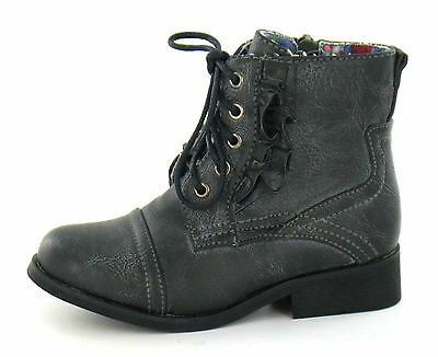 Wholesale Girls Ankle Boots 16 Pairs Sizes 6-12 H4061