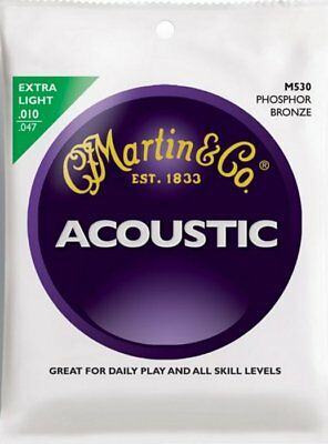 Martin M530 Traditional Phosphor Bronze Acoustic strings 10-47