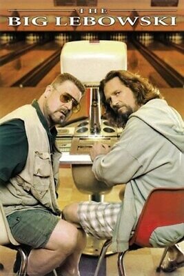 THE BIG LEBOWSKI POSTER Amazing Shot RARE HOT NEW 24x36