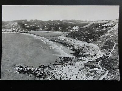 Wales: Caswell Bay, The Mumbles - Old RP Postcard