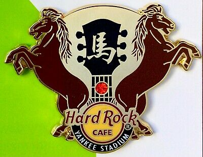 2014 Hard Rock Cafe New York Yankee Stadium Chinese New Year Of The Horse Le Pin