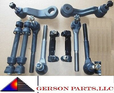 GMC C1500 C2500 Pitman Idler Arm Sway Bar Outer Inner Tie Rod End Adjusting
