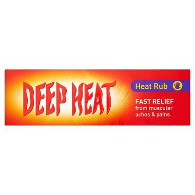 Deep Heat Rubs- 100g- Pack of 6