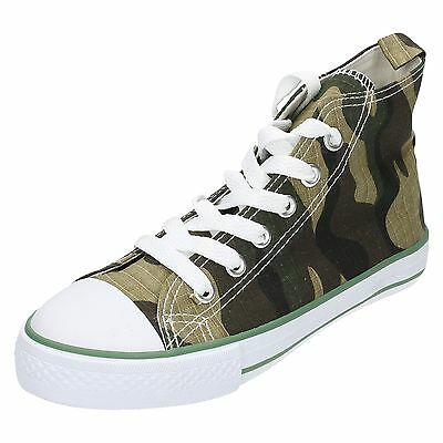 WHOLESALE Boys Hi-Top Pumps / Sizes 10x3 / 16 Pairs / N1038