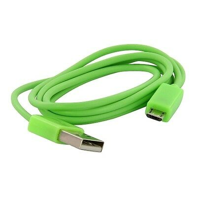 Lime Green 3ft. Premium Micro USB Charger Sync Data Cable For Cellphones