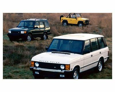 1994 1995 Land Rover Line Photo Poster zuc5092
