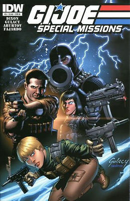 G.I. Joe Special Missions #4 (NM)`13 Dixon/ Gulacy (Cover B)
