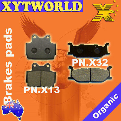FRONT REAR Brake Pads for Yamaha FZX 250 Zeal 1991-1999