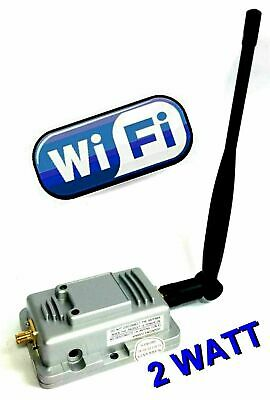 Amplificatore di Segnale Wireless 27dbi per Modem e Router  WIFI 2W