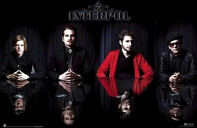 INTERPOL POSTER ~ REFLECTION GROUP 24x36 Music Paul Banks Fogarino Kessler