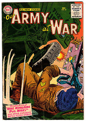 Our Army At War #53 4.0 Off-White Pages Silver Age