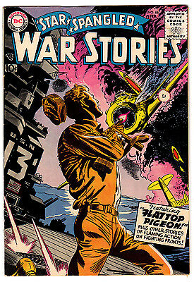 Star Spangled War Stories #66 6.5 Off-White Pages Silver Age