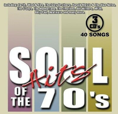 Soul Hits Of The 70's (2002, CD New)