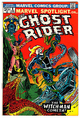 Marvel Spotlight #8 9.2 Cream To Off-White Pages Bronze Age Ghost Rider