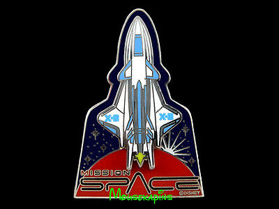Epcot MISSION SPACE X2 Space Shuttle Disney 3D 2008 Pin