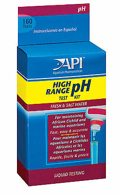 API High Range PH Test Kit For Aquarium Fish Tank Tropical Marine Freshwater
