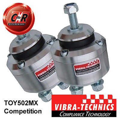 2 x Toyota JXE10 (1G-FE) Vibra Technics Engine Mounts Competition TOY502MX