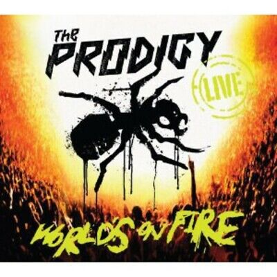 Prodigy - Live World's On Fire [New CD] With DVD