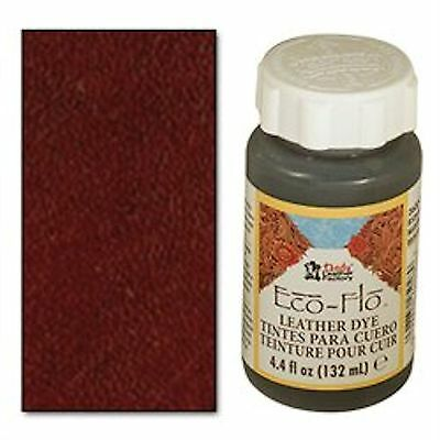 Dark Mahogany Leather Dye 4.4 oz 2600-08 Tandy Leather Eco-Flo