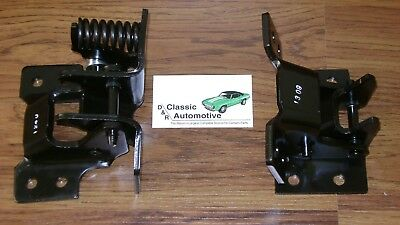 Door Hinge Set Driver Side Upper Lower Pair Camaro Firebird Nova **In Stock**