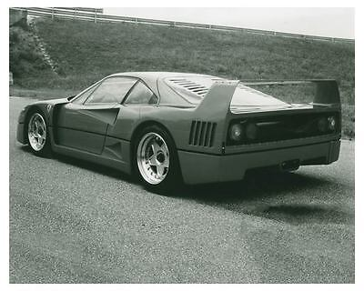 1987 Ferrari F40 Pininfarina Automobile Photo Poster zch3770