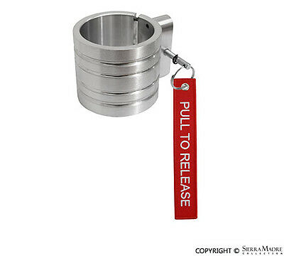 Fire Extinguisher Band Clamp, 2.5 lb, Brushed