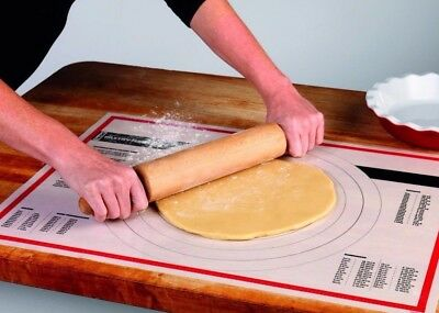 """Tovolo 81-1930 Large Silicone Fiber Pastry Prep Mat 18"""" x 25"""""""