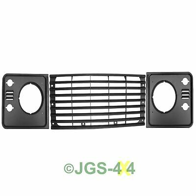 Land Rover Defender TD5 Style Grille & Headlamp Surrounds Upgrade Kit