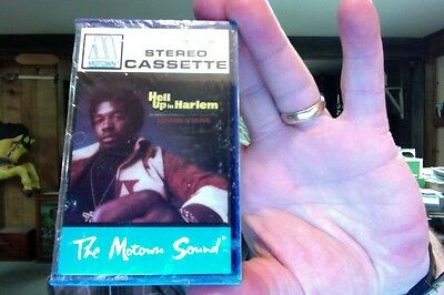 Hell Up in Harlem- Edwin Starr- film soundtrack- Motown label- new/sealed tape
