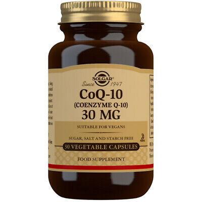 Solgar Coenzyme Q10- Choose from either 30, 60 or 90 Capsules