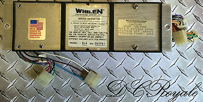 Whelen Edge 9000 Light Bar SL6 Strobe 6 Head Power Supply TESTED