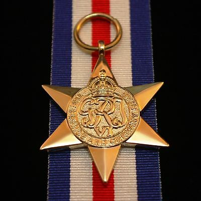 WW2 British/Canada/Commonwealth France & Germany Star, Reproduction
