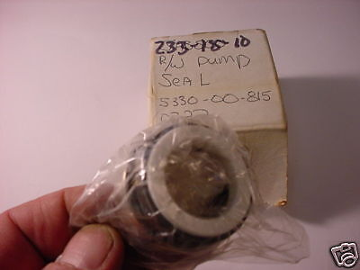 Mechanical Pump Seal   # 136519    #  233-18-10