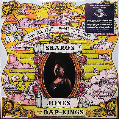 SHARON JONES and the DAP-KINGS Give The People What They Want SEALED VINYL LP
