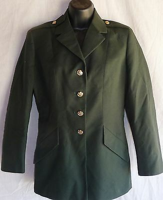 US Army Women's Class A Dress Green Uniform Jackets Coat