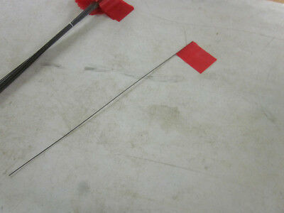 "Lot Of ~50~ Survey Marking Electric Lines Warning ~Red~ Stake Flags 21"" Long New"