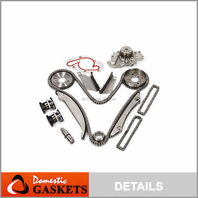 01-04 Chrysler Sebring Dodge Stratus 2.7L Timing Chain Water Pump Kit+Tensioner