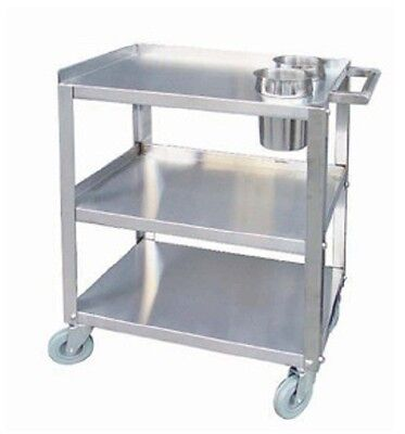 """Heavy Duty Stainless Steel Knock Down Cart NSF 16"""" x 24"""" PC1624"""