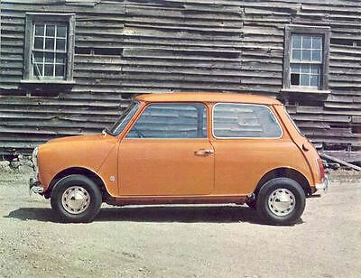 1970 Austin Mini 1000 Brochure Canada mx638-94FDIZ