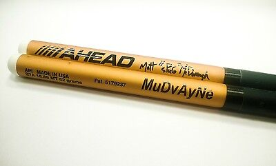 AHEAD Matt McDonough S7A Aluminum  Drumsticks Nylon Tip drum sticks Free US Ship