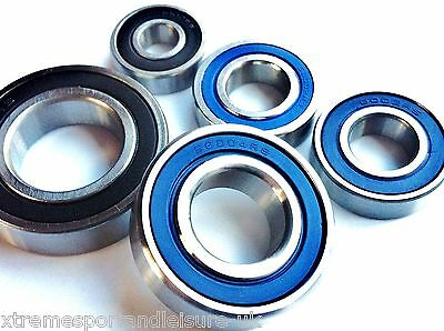 6200 2RS - 6206 2RS SERIES..HIGH PERFORMANCE BEARINGS..Chrome or Stainless