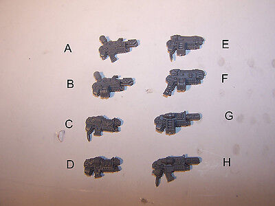 Space Marine Sternguard Veteran Combi Weapons (bits auction)