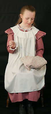 Edwardian//WW1//The Great War-FRILLED OVER APRON Fancy Dress Costume Accessory